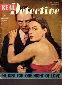 Real Detective Magazine June 1950- True Crime