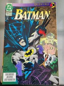 Batman #496 FN 1993 DC Comic