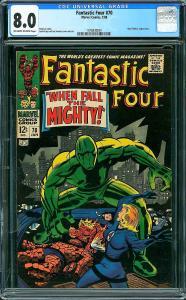 Fantastic Four #70 (Marvel, 1968) CGC 8.0