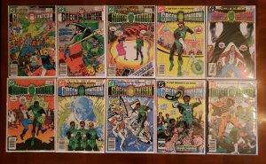 54 GREEN LANTERN (vol 1) COMICS SPANNING  #123 - #193