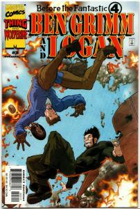 Before Fantastic Four #3 Ben Grimm & Logan (2000) NM-