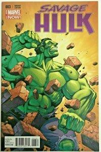 SAVAGE HULK#3 NM 2014 1 FOR 25 VARIANT MARVEL COMICS
