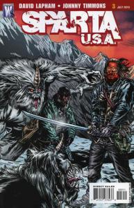Sparta: USA #3 VF/NM; WildStorm   save on shipping - details inside