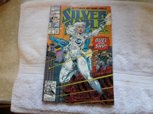 1991 MARVEL COMICS SILVER SABLE # 3