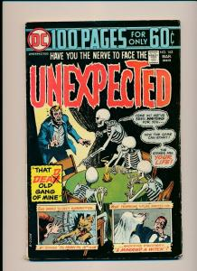 DC UNEXPECTED #162 1974 That DEAD Old Gang of Mine G/VG  (PF790)