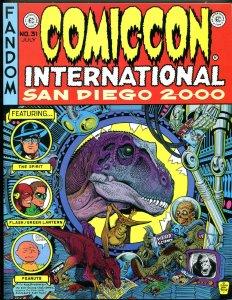 SDCC SOUVENIR BOOK for 2000 #31, NM, William Stout, Peanuts, San Diego Comic Con