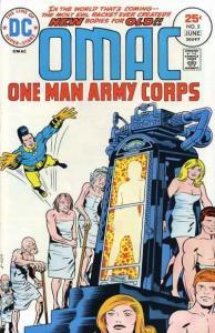 OMAC (1974 series) #5, VF- (Stock photo)