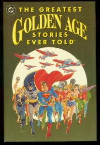 GREATEST GOLDEN AGE STORIES EVER TOLD DC HARDCOVER BATM VF/NM