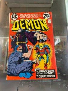 Demon 4 VG Jack Kirby