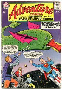 ADVENTURE COMICS #332 1966-Superboy & the Legion of Super-Heroes G/VG
