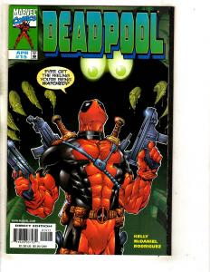 Deadpool # 15 NM Marvel Comic Book X-Men X-Force Cable Domino Wolverine JD1