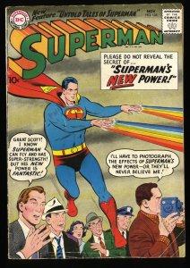 Superman #125 VG 4.0 DC Comics