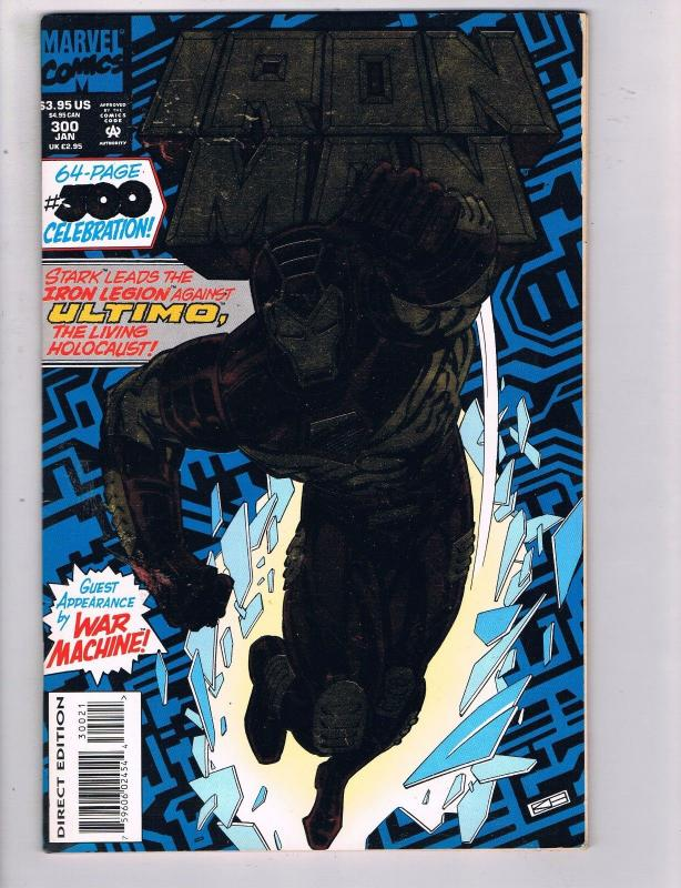 Iron Man # 300 VF/NM Marvel Comics Avengers Captain America Thor Hawkeye!!! SW14