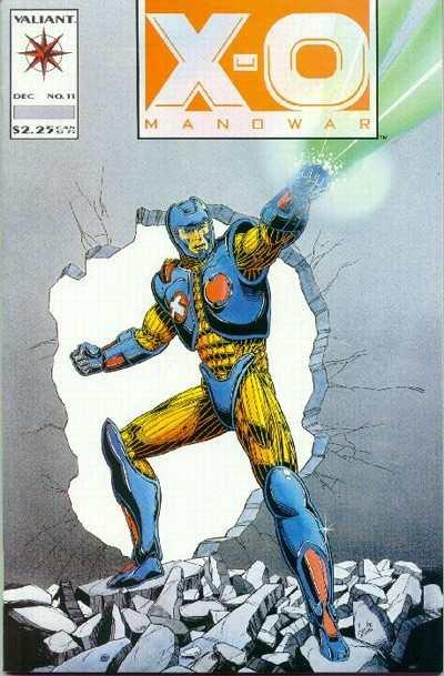 X-O Manowar (1992 series) #11, NM (Stock photo)
