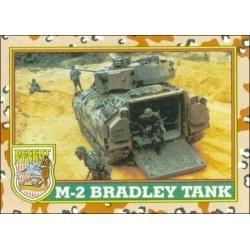 1991 Topps Desert Storm M-2 BRADLEY TANK #38