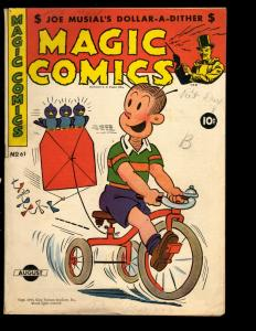 Magic Comics # 61 VG/FN 1944 Comic Book Golden Age King Features Syndicate NE3