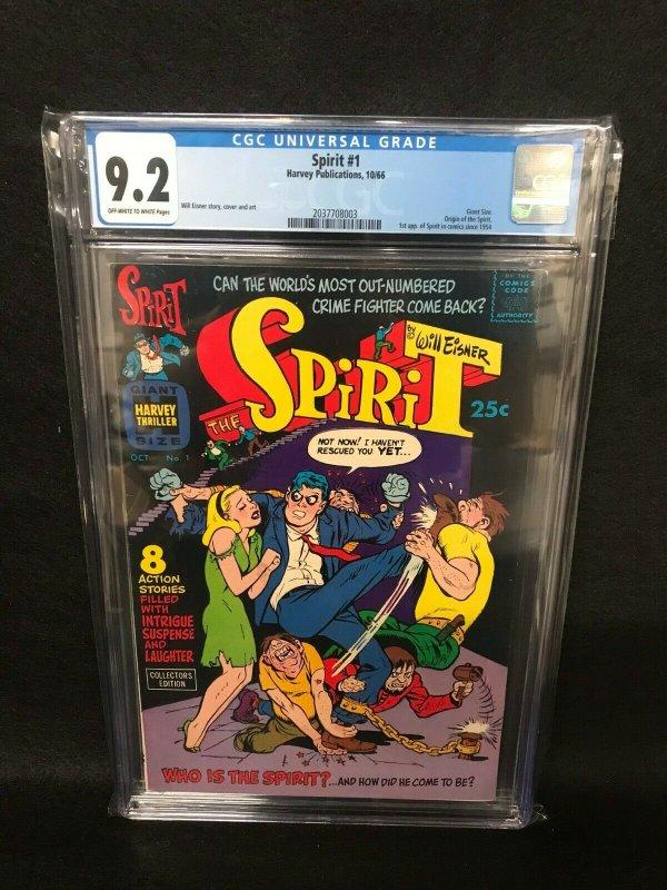 Spirit #1 (Havey, 1966) CGC 9.2 - 1st Silver Age Spirit