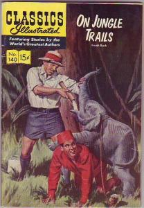 Classics Illustrated #140 (Sep-57) VG Affordable-Grade