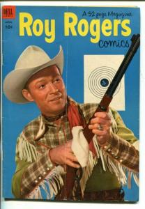 ROY ROGERS #64-1953- PHOTO COVER-KING OF THE COWBOYS-vg