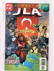 JLA Annual 2000 #3 NM DC Comics Comic Book Vaughan Batman Rayner DE32 CH18