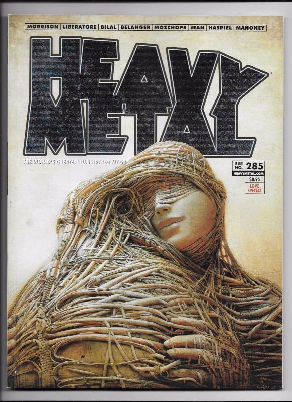 Heavy Metal Magazine #285 - Love Special Cover B by Peter Gric (2017) - New!