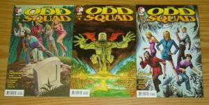 Odd Squad #1-3 VF/NM complete series 2008 DEVIL'S DUE m. avon oeming variant set