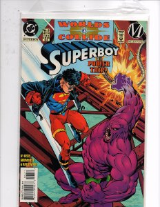 DC Comics Superboy (1997) #6 Worlds Collide Karl Kesel Story Tom Grummett Art