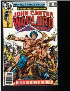 John Carter Warlord of Mars #20 (1979)
