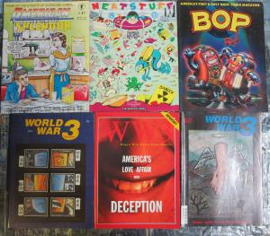 Independent Underground Comix + Magazine Sampler Lot Kitchen Sink Fantagraphics