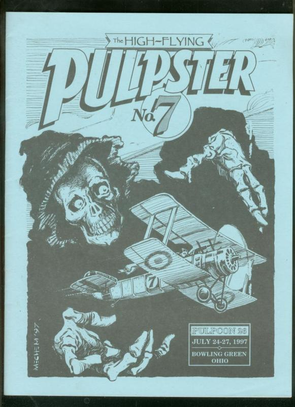 PULPSTER #7 1997-PULPCON 26-PROGRAM BOOK-WEIRD TALES- FN