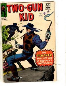 Two-Gun Kid # 77 FN Marvel Comic Book Panther Silver Age Western Cowboy JL19