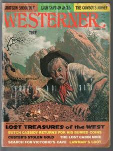 Westerner-Summer 1975-rattlesnake cover-Butch Cassidy-Custer-G