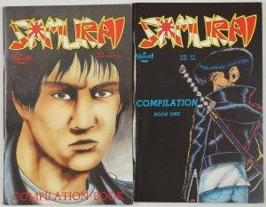 Samurai Compilation #1-2 FN+/VF- complete series - barry blair - aircel set lot