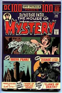 House of Mystery #224 1973-DC Comics-Giant issue-Berni Wrightson
