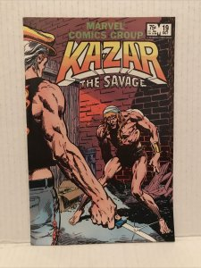 Kazar The Savage #19