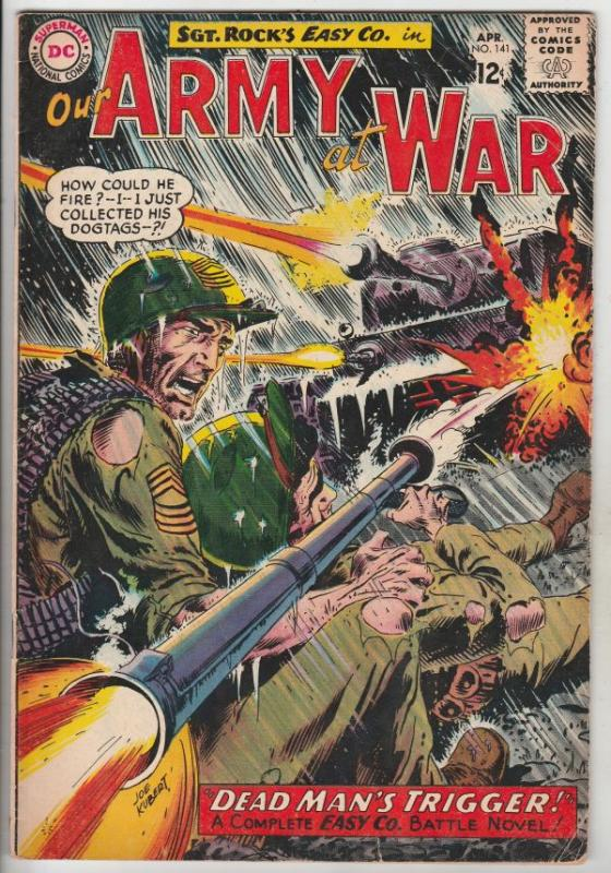 Our Army at War #141 (Apr-64) VG/FN+ Mid-Grade Easy Company, Sgt. Rock