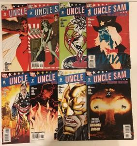 Uncle Sam And The Freedom Fighters 1-8 Complete Near Mint Lot Set Run