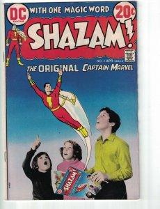 Shazam! #2 VG Captain Marvel Billy Batson Sunny Sparkle Mr Mind Tawky Tawny 1973