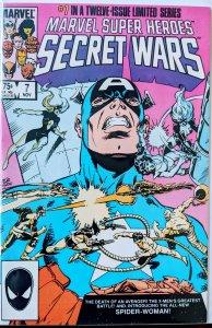 Marvel Super Heroes Secret Wars #7 (1984) F/VF