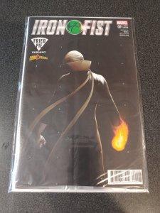 IRON FIST VOL 5 #1 COMICXPOSURE JOHN TYLER CHRISTOPHER EXCLUSIVE VARIANT