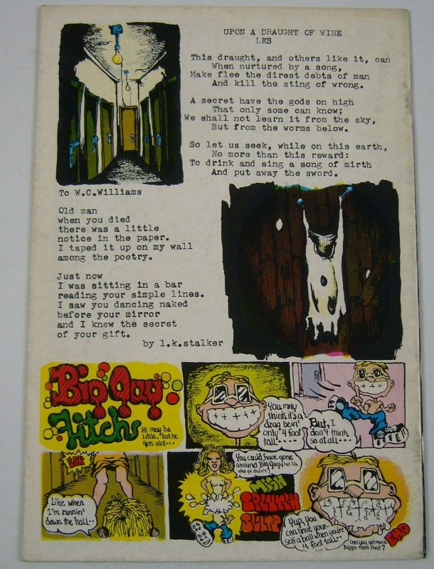 Bum Wad #1 FN print mint underground comix from kennedy's guide - dave geiser