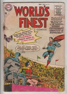 World's Finest #78 (Sep-55) GD/VG Affordable-Grade Superman, Batman, Robin
