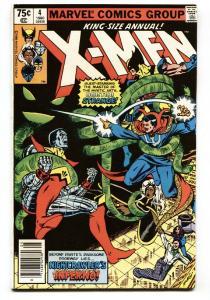 X-Men Annual #4-DOCTOR STRANGE - Marvel comic book