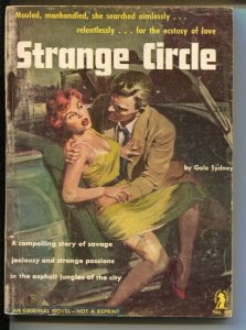 Intimate Novels #49 1953-Strange Circle-Spicy Good Girl art-VG