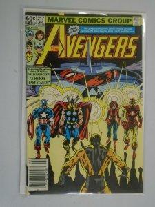 Avengers #217 Newsstand edition 6.0 FN (1982 1st Series)