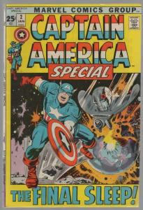 CAPTAIN AMERICA ANN  2 VG Jan. 1972