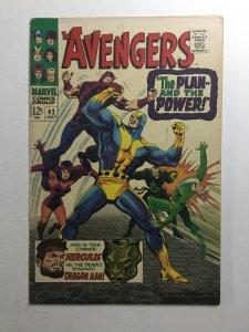 Avengers 42 Fn+ Fine+ 6.5 Marvel Comics