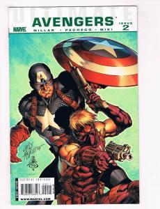 Ultimate Avengers #2 NM Marvel Comics Comic Book Captain America 2009 DE30