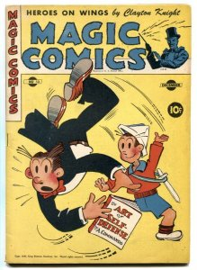 Magic Comics #53 1943- Popeye- Blondie- Lone Ranger FN+