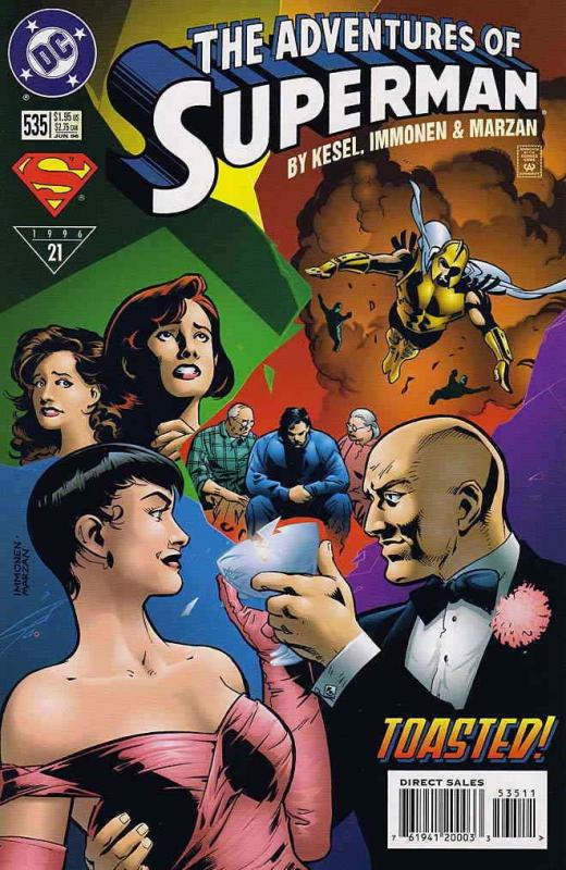 Adventures of Superman #535 FN; DC | save on shipping - details inside